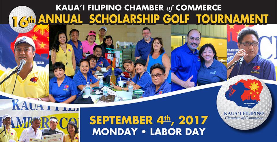 16th Annual Scholarship Golf Tournament, September 4, 2017