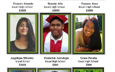 2015 Kauai Filipino Chamber of Commerce Scholarship Program
