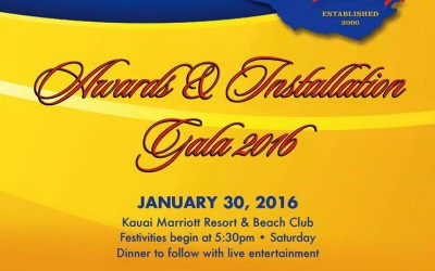 Awards & Installation Gala 2016