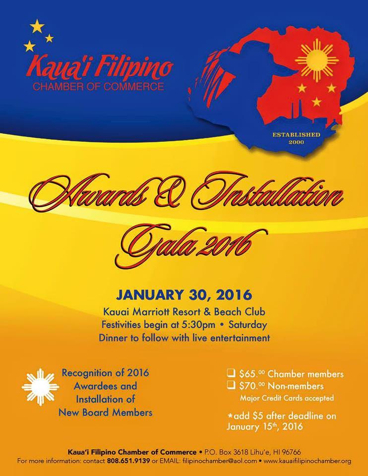 Awards & Installation Gala 2016