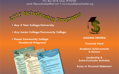 KFCC 2016 Scholarship Programs
