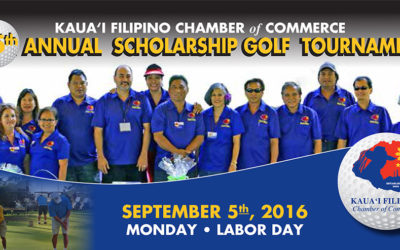 15th Annual Scholarship Golf Tournament, September 5, 2016