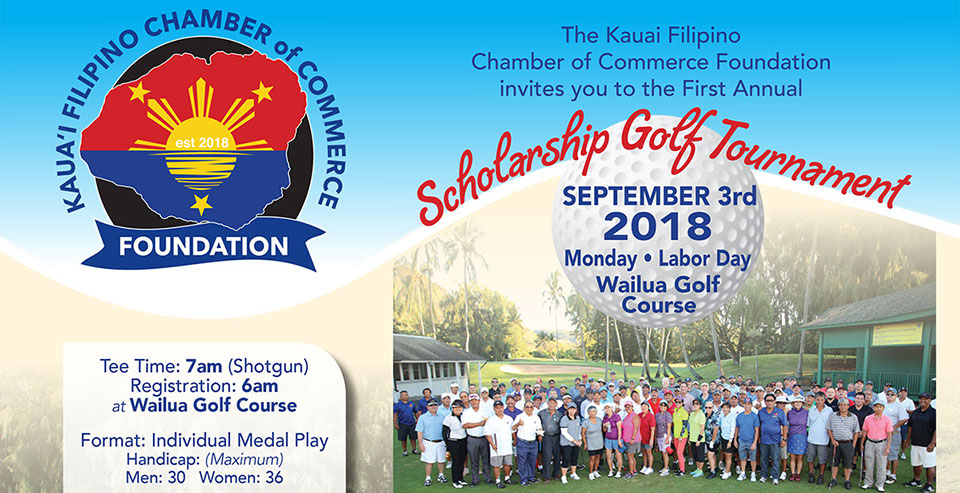 1st Annual KFCC Foundation Scholarship Golf Tournament, September 3, 2018