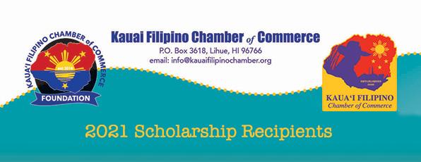 KFCC 2021 Scholarship Recipients
